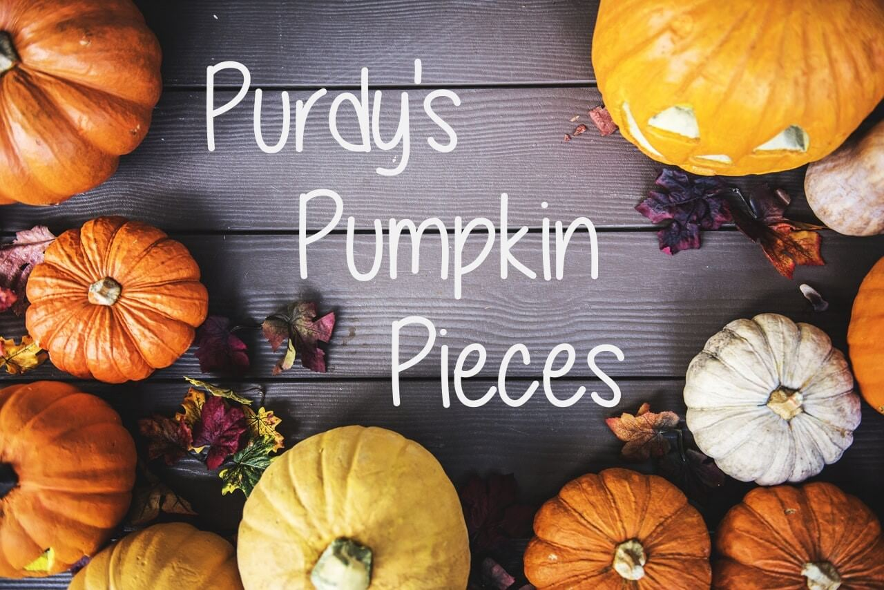 Recipe for Purdys Peanut butter & Pumpkin pieces!